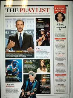 Keith Richards - Rolling Stone Aug 2015.