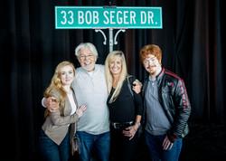 Bob Seger and Family