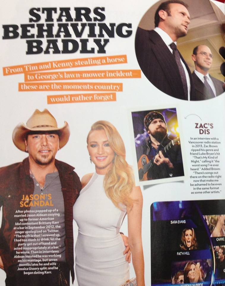 ZAC BROWN  - PEOPLE MAG