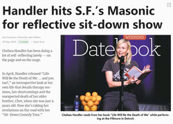 Chelsea Handler - The San Francisco Chro