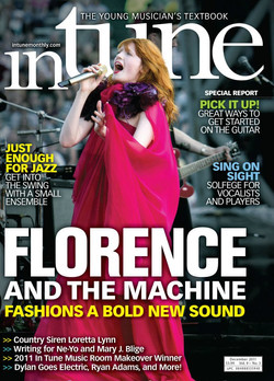 FLORENCE AND THE MACHINE - IN TUNE COVER