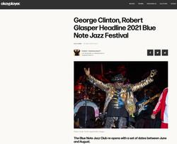 George Clinton - OakPlayer