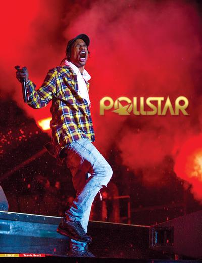 Travis Scott - POLLSTAR Cover
