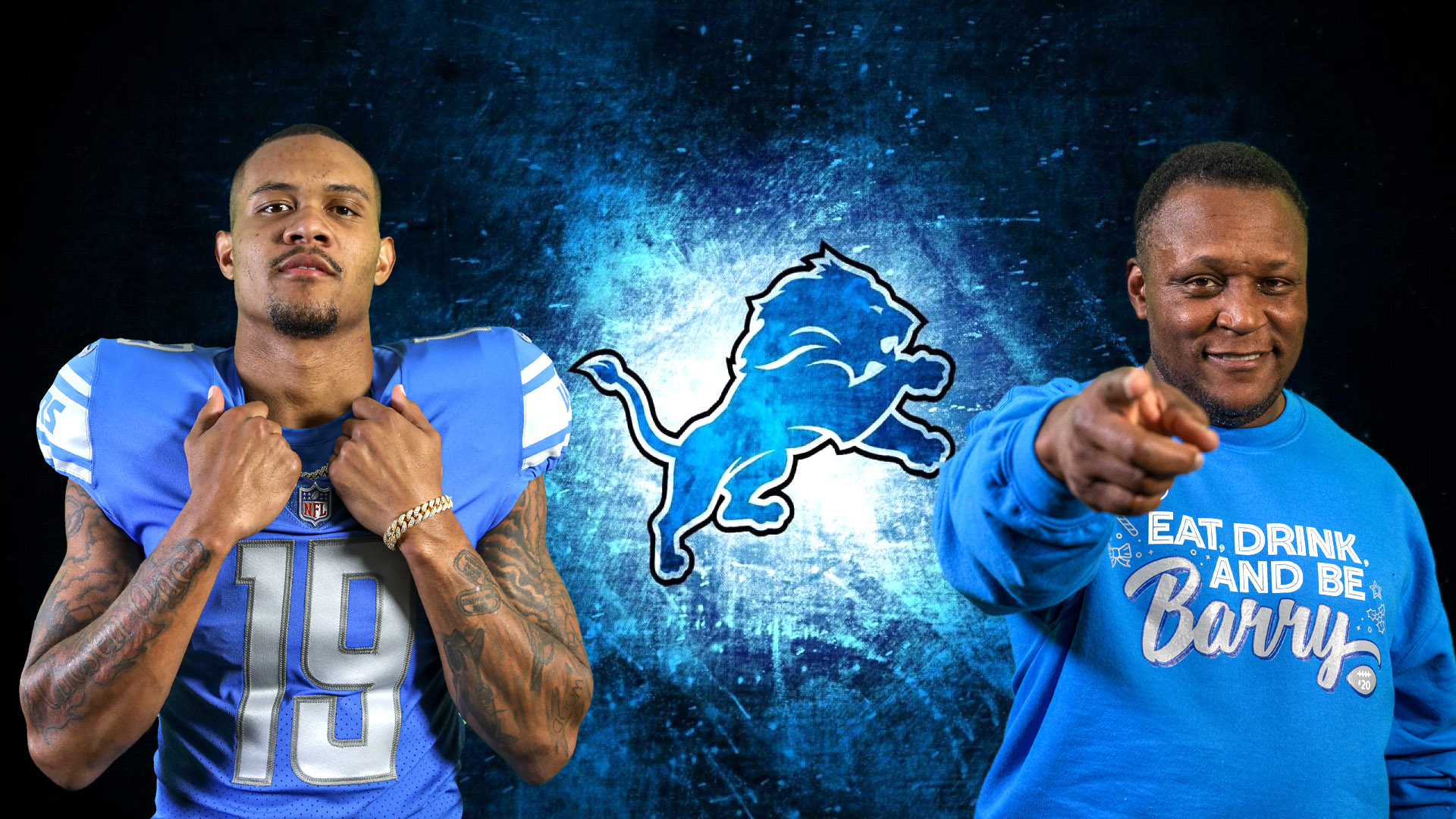 Kenny Golladay - Barry Sanders
