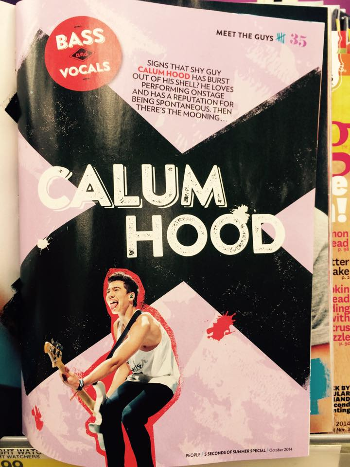 5 SECONDS OF SUMMER - PEOPLE MAG