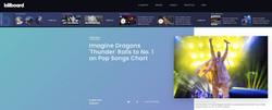 Imagine Dragons - BILLBOARD 3