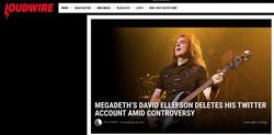 Megadeath - David Ellefson - Loudwire