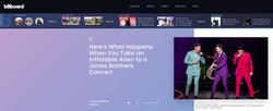 Jonas Brothers - BILLBOARD