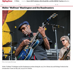 Walter 'Wolfman' Washington - Rolling St