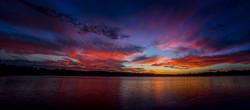 SUNSET - PRETTY LAKE, MI