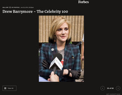 Drew Barrymore - FORBES