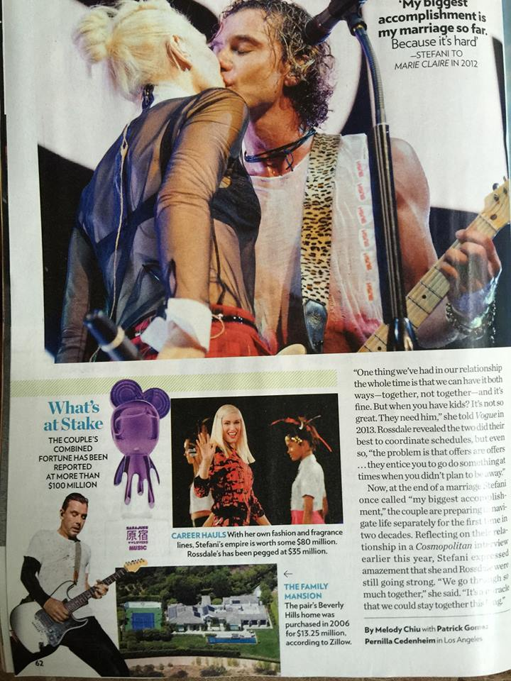 GAVIN ROSSDALE - PEOPLE MAG