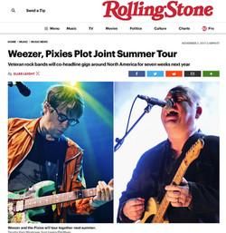 PIXIES - Rolling Stone