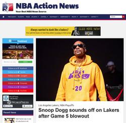 Snoop Dogg - NBA Action News