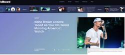 Kane Brown - BILLBOARD