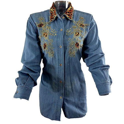Vintage Jean with Detail