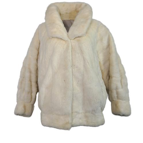 Ivory Mink Waist Coat