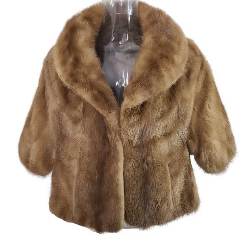 Vintage Emba Autumn Haze Brown Mink Coat