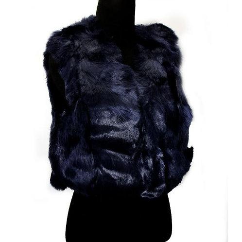 Short Faux Fur Vest