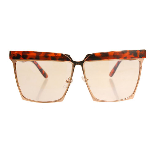 Tortoiseshell Vintage Wayfarer Style Glasses