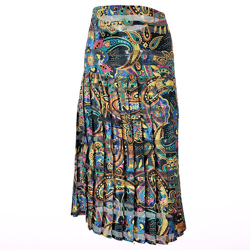 Vintage Multi Color Skirt