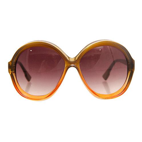 70s Style Retro Round Sunglasses