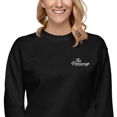 Unisex Fleece Pullover - Embroidered Runaways logo