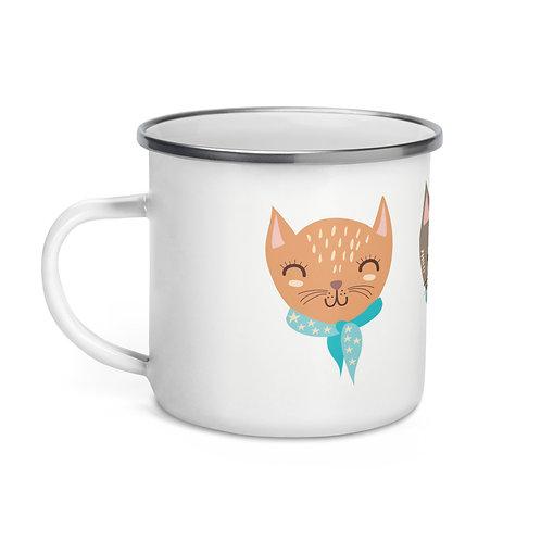 Enamel Mug - The Sassy Cat Collection