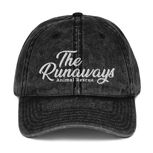 Vintage Cotton Twill Cap - The Runaways Animal Rescue
