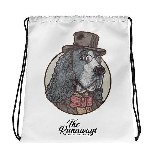 Drawstring bag - The sophisticated Dog