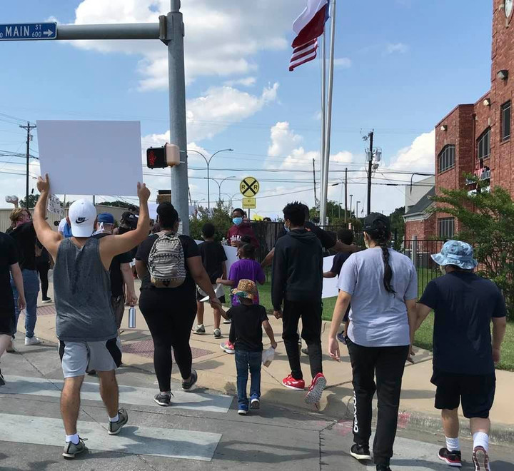 Call for Change Amid George Floyd Protests in Arlington