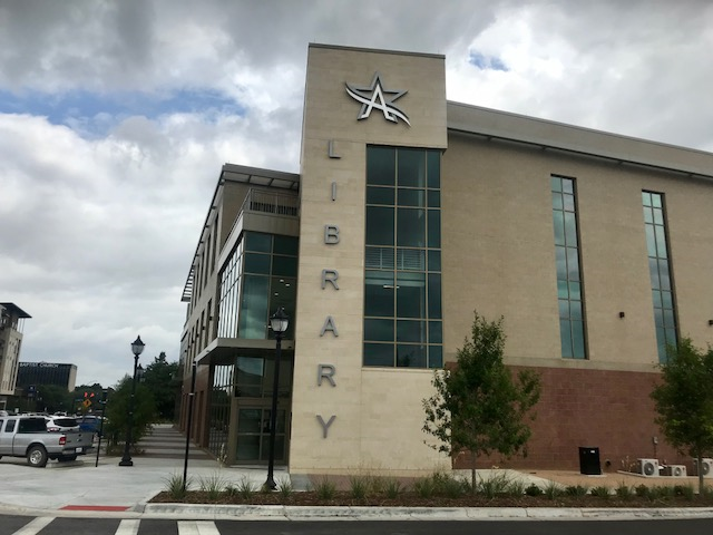 New George W. Hawkes Downtown Arlington Library encourages creativity