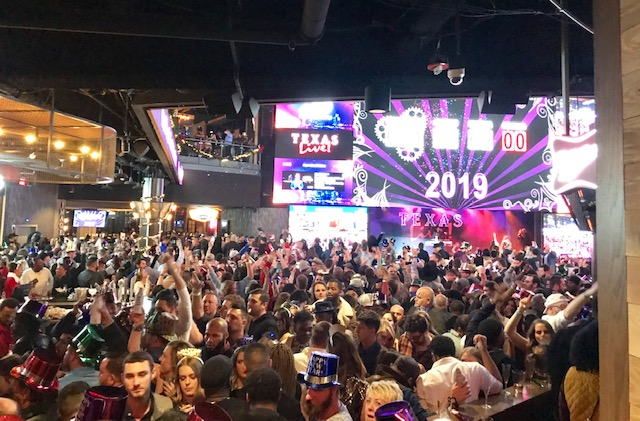 Texas Live! Inaugural New Year's Eve Party Gives 2019 Lone Star Welcome