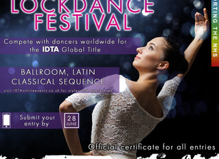 GLOBAL LOCKDANCE FESTIVAL. ONLINE COMPETITION FOR ALL GENRES.  The IDTA's first global online  c