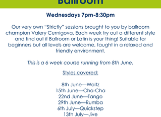 Strictly Ballroom Dance Sessions at the Brewhouse, Burton on Trent