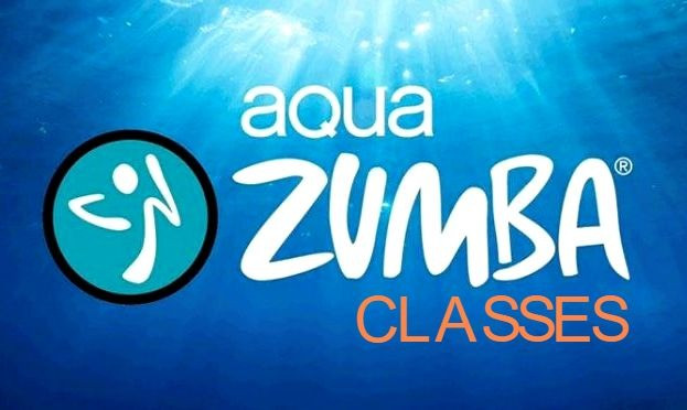 "Aqua Zumba - ""Pool Party"" workout for all ages. Aqua Zumba blends the Zumba philosophy with water resistance, for one pool party you shouldn't miss! There is less impact on your joints during an Aqua Zumba class so you can really let loose. Water creates natural resistance, which means every step is more challenging and helps tone your muscles."