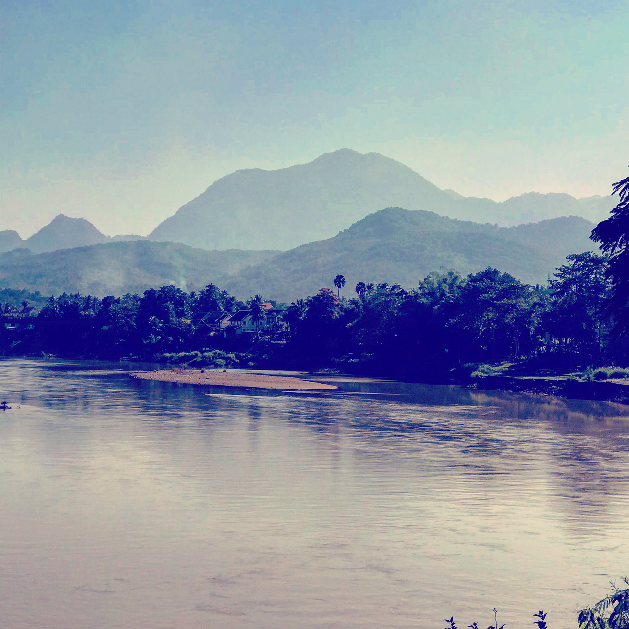 Lovely N. Laos mountains