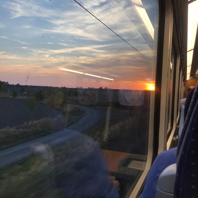 Random train rides