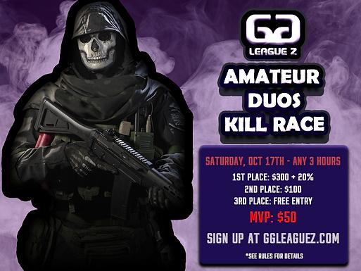 Amateur Duos Kill Race