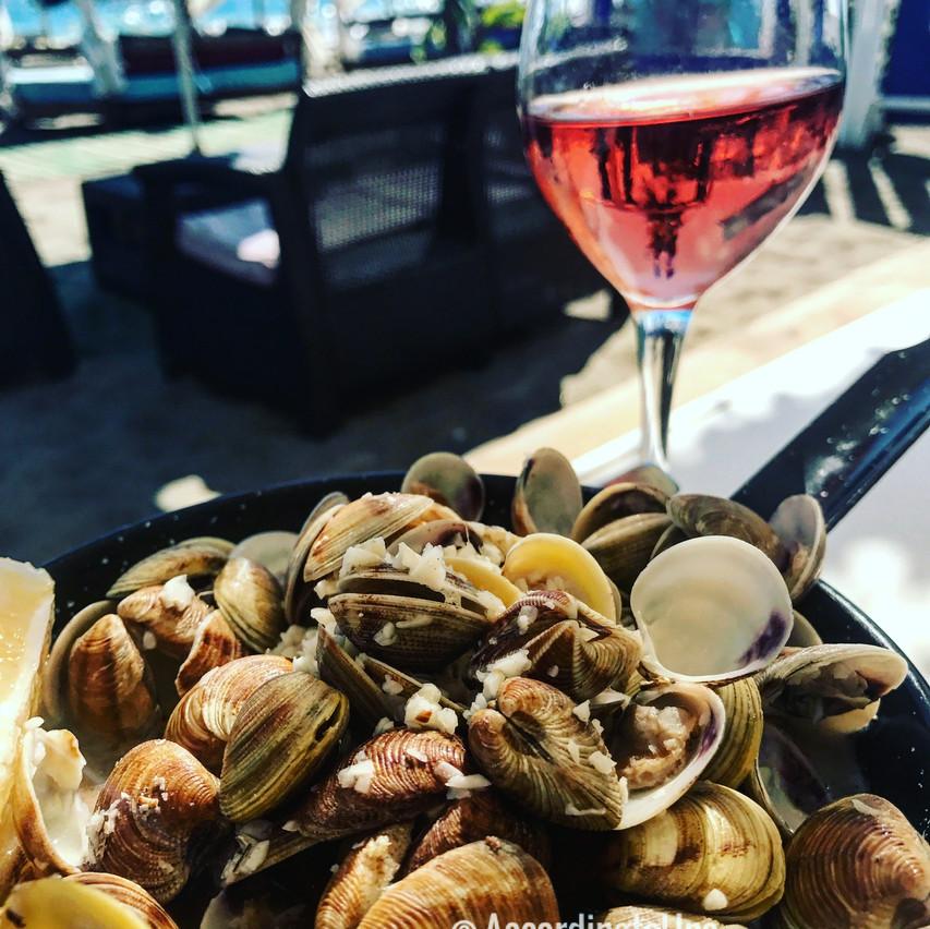 Seaside meals, France