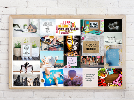 How a Vision Board can help you accomplish your Goals