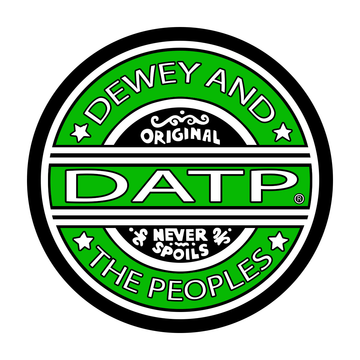 Dewey And The Peoples - Band Logo