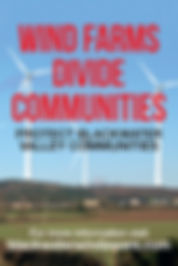 wind farms divide communities protect blackwater valley communities