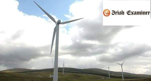 wind energy wind turbines Ireland innogy windfarm cathal hennessy waterford lyrenacarriga innogy renewables highfield energy water supply risk windfarms wind turbines