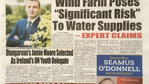 Wind Farm poses 'significant risk' to water supplies - expert claims