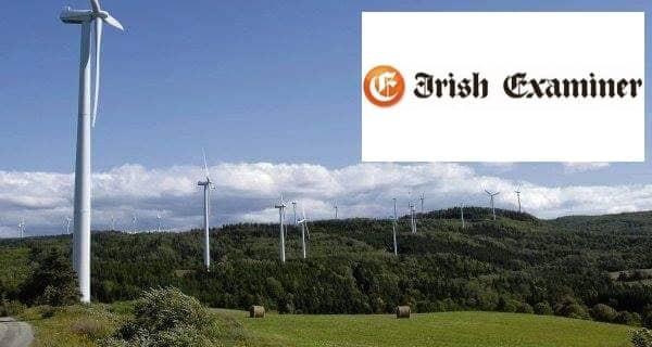 wind energy Waterford development plan turbines 300 family homes impacted Innogy German energy giant  turbines Waterford Cork Lyrenecarriga