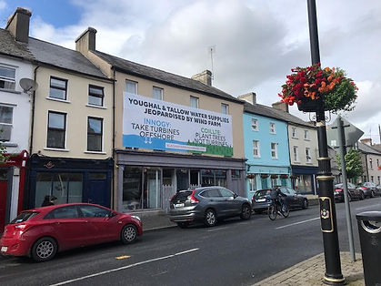 Innogy coillte banner Tallow water supplies Youghal