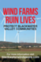 wind farms ruin lives protect rural Ireland