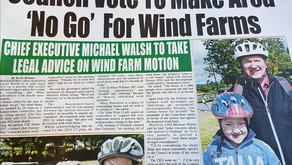 Council vote to name area 'No Go' for wind farms