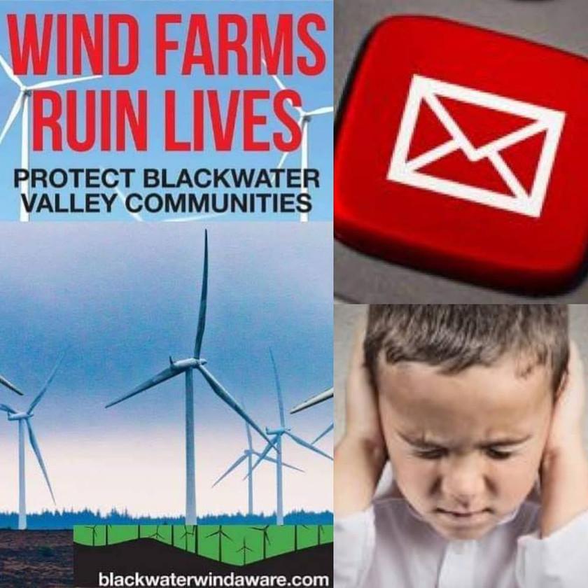 innogy renewables ireland ltd wind farm blackwater wind aware